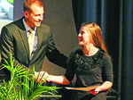 Scholarship given to salutatorian