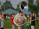 LaRue County Band of Hawks camp