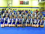LaRue County Middle School Cheerleaders