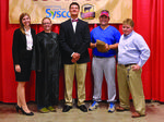 Benjamin Conner represents LaRue at the 2014 National Junior Angus Show
