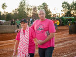 Burger Queen Breast Cancer Awareness Truck and Tractor Pull