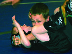 Young Mat Hawks grapple with Central Kentucky Wrestling Club
