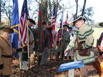 SAR grave marking ceremony for Patriot Thomas Wilkins