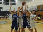 Lady Hawks in action, Jan. 19, 2012