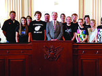 Saint Catherine students visit DC