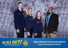 "<div class=""source"">Submitted</div><div class=""image-desc"">Members of the Agriculture Communication team are from left, Jacob Hurt, Cayleigh Allen and Keeahna Bowen with Advisor Chris Thomas. </div><div class=""buy-pic""><a href=""/photo_select/38682"">Buy this photo</a></div>"
