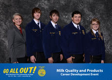 "<div class=""source"">Submitted</div><div class=""image-desc"">LaRue's FFA team in Dairy: From left, FFA sponsor Misty Bivens and FFA members Curtis Pepper, Brandon Pepper, Lane Meredith and Emma Shelton. </div><div class=""buy-pic""><a href=""/photo_select/38680"">Buy this photo</a></div>"