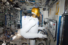 "<div class=""source"">NASA</div><div class=""image-desc"">Robonaut 2 at work on the International Space Station. Credit: NASA.</div><div class=""buy-pic""></div>"