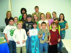 """<div class=""""source""""> </div><div class=""""image-desc"""">4-H Award Points participants are, front row from left, Richard Pike, Alyssa White, Benjamin Lope and Madison Wilmoth; middle, Holden Madriaga, Leslie Pike, Katie Gardner, Zachary Gardner, Darian White, Sierra Mullins, Michaela Rock, Sarah Lope, Hallie Ma</div><div class=""""buy-pic""""><a href=""""/photo_select/8960"""">Buy this photo</a></div>"""