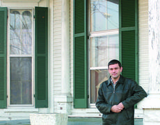 """<div class=""""source"""">Linda Ireland</div><div class=""""image-desc"""">Wesley Warren has been networking, trying to find a taker for The I.W. Twyman home, which needs to be moved from its Water Street location. The house was built in 1889.</div><div class=""""buy-pic""""><a href=""""/photo_select/12601"""">Buy this photo</a></div>"""