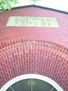 """<div class=""""source"""">Linda Ireland</div><div class=""""image-desc"""">Buffalo Elementary School may be converted for use as low-income housing for the elderly. Bids for sale of the building will be opened Thursday at a special school board meeting.</div><div class=""""buy-pic""""><a href=""""/photo_select/9016"""">Buy this photo</a></div>"""