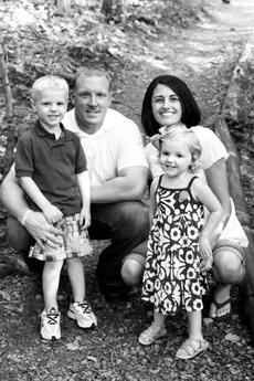 """<div class=""""source""""></div><div class=""""image-desc"""">Chris Engstrand is pictured with his wife, the former Jaime Cecil, a 1997 graduate of LaRue County High School, son Jaxon and daughter, Ryann, 3. </div><div class=""""buy-pic""""></div>"""