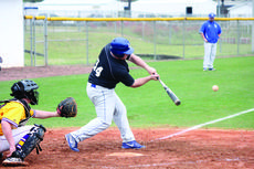 """<div class=""""source"""">David Dawson</div><div class=""""image-desc"""">Hawk Cole Hughes had two hits in the win over Brookville, Ohio during the Florida Beach Bash.</div><div class=""""buy-pic""""><a href=""""/photo_select/26932"""">Buy this photo</a></div>"""