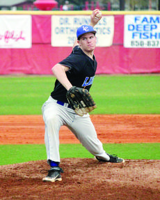 """<div class=""""source"""">David Dawson </div><div class=""""image-desc"""">Pitcher Jordan McGaw puts one over the plate in a game in Florida.</div><div class=""""buy-pic""""><a href=""""/photo_select/26931"""">Buy this photo</a></div>"""