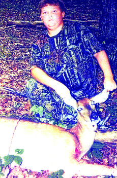 """<div class=""""source""""></div><div class=""""image-desc"""">Canyon Harned, 11, of Hodgenville, harvested a deer with a bow on the first day of hunting season.</div><div class=""""buy-pic""""><a href=""""/photo_select/25523"""">Buy this photo</a></div>"""