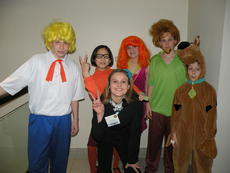 """<div class=""""source""""></div><div class=""""image-desc"""">LaRue County Middle School students put on a Scooby Doo skit as a campaign tool for Maddie Lee.</div><div class=""""buy-pic""""></div>"""