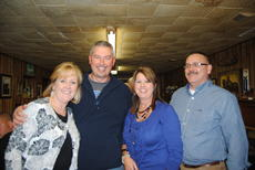 """<div class=""""source"""">Candis Carpenter</div><div class=""""image-desc"""">Sherriff Bobby Shoffner and his wife, Tammy celebrated with Debora and Shannon McCubbins Tuesday night, after his victory over opposing candidate Jack Smith.</div><div class=""""buy-pic""""><a href=""""/photo_select/1656"""">Buy this photo</a></div>"""