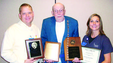 "<div class=""source"">Ronnie Benningfield</div><div class=""image-desc"">Perfect attendance year bars stream down Ed Fultz's chest while  Sunrise Manor physical therapy assistant Jason Stephens and certified occupational therapy assistant Alison Carter display some of his plaques Fultz earned for 67 years of perfect Sunday School attendance at Nolynn Baptist Church. </div><div class=""buy-pic""><a href=""http://web2.lcni5.com/cgi-bin/c2newbuyphoto.cgi?pub=029&orig=Ed%2BFultz.jpg"" target=""_new"">Buy this photo</a></div>"