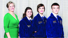 "<div class=""source""></div><div class=""image-desc"">Submitted photo Members of the LaRue County FFA agriculture communications team are from left, advisor Misty Bivens, Hayley Utter, Shea Elswick and Kyle Edlin. </div><div class=""buy-pic""><a href=""/photo_select/24080"">Buy this photo</a></div>"