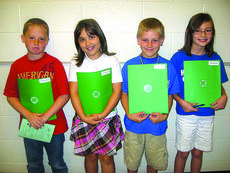 """<div class=""""source"""">Submitted photo</div><div class=""""image-desc"""">Hodgenville Elementary School 4-H officers for fourth grade (Allen/DeVary) are president, Caleb Altman; vice president, Kaylee Whiteman; secretary, Wyatt Pearman; and reporter, Sydney Pepper.</div><div class=""""buy-pic""""><a href=""""/photo_select/17739"""">Buy this photo</a></div>"""