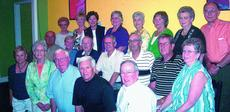"""<div class=""""source""""></div><div class=""""image-desc"""">Those attending were front from left, Kitty Priddy Dixon, Shirley Hazlewood Hornback, Dale Morris, R. M. Fulkerson, A. R. """"Robbie"""" Hatcher; middle row, Donald Davenport, Virginia Comer Self Luzon, Bernard Rock, Bobby Heady, Murrell Smith, Jackie Bradley, </div><div class=""""buy-pic""""><a href=""""/photo_select/310"""">Buy this photo</a></div>"""