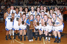 "<div class=""source"">Terry Sandidge</div><div class=""image-desc"">The Lady Hawks pose with their 18th District Championship trophy.</div><div class=""buy-pic""><a href=""/photo_select/13468"">Buy this photo</a></div>"