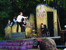 """<div class=""""source"""">Submitted photo</div><div class=""""image-desc"""">Ian Mather, 2011 graduate of LaRue County High School, performs in the Williamstown Theatre Festival's production of Bram Stoker's """"Dracula."""" As a member of the chorus, Mather played several parts in the show, which was performed as a free outdoor theatre experience for citizens and tourists in the Berkshires. Mather will apprentice at Williamstown until Aug. 17.</div><div class=""""buy-pic""""><a href=""""/photo_select/29177"""">Buy this photo</a></div>"""