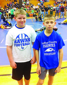 """<div class=""""source""""></div><div class=""""image-desc"""">Clay Perry, left, and Preston Carter competed in the Fern Creek Youth Wrestling Tournament.</div><div class=""""buy-pic""""><a href=""""/photo_select/24798"""">Buy this photo</a></div>"""