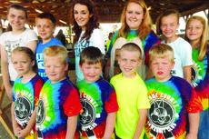 """<div class=""""source"""">Submitted photo</div><div class=""""image-desc"""">4-H Rabbit Show entries were front from left, Emily Sallee, Davin Rock, Gabriel Rock, Jamie Grimes, Kagan Rock; back, Sara Duvall, Zachary Duvall, Silence Sams, Michaela Rock, Lexi Grimes and Abby Sallee.</div><div class=""""buy-pic""""><a href=""""/photo_select/28773"""">Buy this photo</a></div>"""