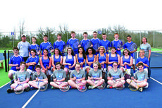 """<div class=""""source""""></div><div class=""""image-desc"""">Submitted photo Members of the LaRue County High School tennis teams are front from left, Cole Lucas, Rylee Greenwell, Mary Gearon, Kalli Flanders, Breanna Taylor, Allie Massie, Harrison Hynes; middle, Cody McDowell, Michael Brey, Gracyn Snodgrass, Caitlin Lewis, Ripley Lucas, Amanda Adyani, Haylee Best, Cayleigh Allen, Clarissa Baker, Madison Lee, Preston Howell; back, Coach Roger Pierce, Josh Adams, Austin McCreery, Ryan Hornback, Tyler Skaggs, Trevor Sanders, Kyler Hart, Ryan Abell, John Michael Lawler, Alex Best and Coach Allison McDowell. Not pictured, Kenzi Lewis and Kathryn Reding.</div><div class=""""buy-pic""""><a href=""""/photo_select/27429"""">Buy this photo</a></div>"""