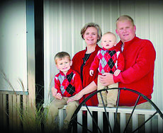 """<div class=""""source"""">Submitted photo</div><div class=""""image-desc"""">Ryan and Misty Bivens with their sons, Cyrus, 4, and Avery, 15 months.</div><div class=""""buy-pic""""><a href=""""/photo_select/19585"""">Buy this photo</a></div>"""