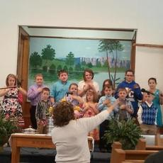 "<div class=""source"">Ramona Coffey</div><div class=""image-desc"">Children at Union Christian Church sang on Easter. Front from left, Gage Wimp, Grace Lowther, Kailyn Stillwell, Carson Donahue, Walker Meredith, Brody Johnson; back, Emma Stillwell, Jamie Huckabee, Jared Stillwell, Alex Donahue, Karrington Donahue, Grace Meredith, Jordan McClure, Olivia Hazelwood. Not pictured: Anna Norby and Cheyenne Huckabee.</div><div class=""buy-pic""><a href=""/photo_select/26779"">Buy this photo</a></div>"