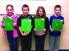 """<div class=""""source""""></div><div class=""""image-desc"""">4-H Club officers for Abraham Lincoln Elementary School fourth grade in Brown and Sutherland's class are president, Haley Dile; vice president, Carson Hilton; secretary, Olivia Bingham; and reporter, Brady Shelton.</div><div class=""""buy-pic""""><a href=""""/photo_select/31158"""">Buy this photo</a></div>"""