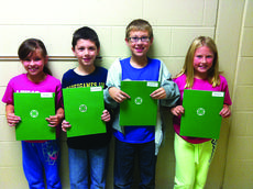 """<div class=""""source""""></div><div class=""""image-desc"""">Submitted photo 4-H Club officers for Abraham Lincoln Elementary School fourth grade in Ward and Canter's class are president, Brenna Southwood; vice president, Will Faulkner; secretary, Connor Nicholas; and reporter, Harper Hynes.</div><div class=""""buy-pic""""><a href=""""/photo_select/31160"""">Buy this photo</a></div>"""