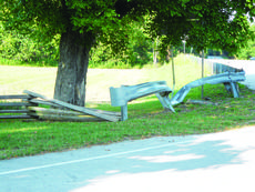 "<div class=""source"">Linda Ireland</div><div class=""image-desc"">A guardrail near the entrance of the Boyhood Home at Knob Creek at 7120 Bardstown Road that had been struck by a vehicle was replaced recently.</div><div class=""buy-pic""><a href=""http://web2.lcni5.com/cgi-bin/c2newbuyphoto.cgi?pub=029&orig=boyhood%2Bhome%2Bcurve_0.jpg"" target=""_new"">Buy this photo</a></div>"