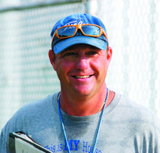 """<div class=""""source"""">Linda Ireland</div><div class=""""image-desc"""">Head Coach Rodney Armes notched his 100th win as the Hawks defeated the Shelby County Rockets Friday. Armes has led the Hawks' football team for 15 years. Armes has been coaching for 23 years – the last 19 at LaRue County High School.</div><div class=""""buy-pic""""><a href=""""/photo_select/10021"""">Buy this photo</a></div>"""