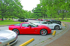 """<div class=""""source"""">Felicia Marie Gray</div><div class=""""image-desc"""">A group of about 40 Corvette owners showed off their favorite cars July 18 in Hodgenville on their way to the Corvette Museum in Bowling Green. Above, they stopped at Abraham Lincoln Birthplace National Historic Park.</div><div class=""""buy-pic""""><a href=""""/photo_select/36322"""">Buy this photo</a></div>"""