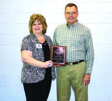 "<div class=""source"">Rebecca Roscoe</div><div class=""image-desc"">Donnie Propes, right, received the Outstanding Citizen Award for his outstanding service to the community. Allison Shepherd, general manager of The LaRue County Herald News, made the presentation</div><div class=""buy-pic""><a href=""/photo_select/27648"">Buy this photo</a></div>"