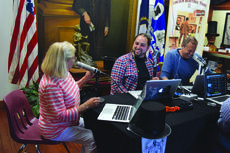 "<div class=""source"">Vanessa Hurst</div><div class=""image-desc"">Museum Director Iris LaRue was a guest on the The Blaze Morning Show, pictured talking with LaRue are Kal Elsebai and Doc Thompson</div><div class=""buy-pic""><a href=""/photo_select/53239"">Buy this photo</a></div>"