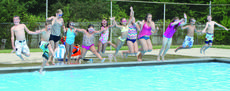 "<div class=""source"">Linda Ireland</div><div class=""image-desc"">Children linked hands to take a group jump into the LaRue County Park and Recreation's swimming pool. The pool closes with the beginning of school.</div><div class=""buy-pic""><a href=""/photo_select/36573"">Buy this photo</a></div>"