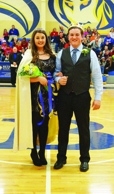 "<div class=""source""></div><div class=""image-desc"">Bennett Lepora and Haley Mattingly were named Bethlehem High School Basketball Homecoming King and Queen at Bethlehem's double-header basketball game on Nov. 17. Bennett is the son of Nick and Susan Lepora of Elizabethtown. Haley is the daughter of Bill and Tera Mattingly of Cox's Creek. </div><div class=""buy-pic""><a href=""/photo_select/33203"">Buy this photo</a></div>"