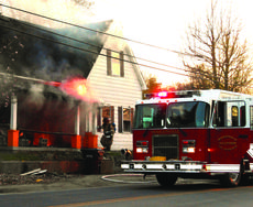 "<div class=""source"">Linda Ireland</div><div class=""image-desc"">Hodgenville and LaRue firefighters attempted to control the flames after a fire broke out on East Main Street. The fire rekindled hours later.</div><div class=""buy-pic""><a href=""/photo_select/34554"">Buy this photo</a></div>"