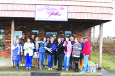 """<div class=""""source"""">Allison Shepherd</div><div class=""""image-desc"""">The LaRue County Chamber of Commerce hosted an official grand opening ribbon cutting event on Thursday, March 1, 2018. Positive Vibes is a new business in Hodgenville.  Pictured are from left: Betty Lucas, Richard Minter, Tashawna Puckett, Larry Kidd, Teleana Davis, Christal Milliner, Shawn Evans, Shannon Minter, Neal Milliner, Donna Mince, Bill Gehr, Rose Meredith, Stan Mullins, Patty Holbert, Chamber Executive Director Sandy Kidd, and Josh Singer. </div><div class=""""buy-pic""""><a href=""""/photo_select/58093"""">Buy this photo</a></div>"""