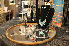 "<div class=""source"">Photo by Vanessa Hurst</div><div class=""image-desc"">Just a sampling of jewelry options at Garrett's Jewelry.</div><div class=""buy-pic""><a href=""/photo_select/43018"">Buy this photo</a></div>"