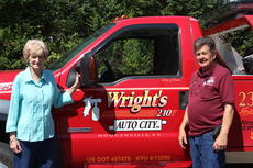 "<div class=""source"">Doug Ponder</div><div class=""image-desc"">Bonnie Wright (left) and Bobby Wright (right) are the owners of Auto City by Wright's 210. They have three locations in Hodgenville and have been in operation for 55 years. </div><div class=""buy-pic""><a href=""/photo_select/44832"">Buy this photo</a></div>"
