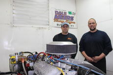 """<div class=""""source"""">Doug Ponder</div><div class=""""image-desc"""">Dale Meers Racing Engines owner Dale Meers and employee Nick Pickerell are shown performing a dynamometer test on an engine. The business is a complete machine shop that works exclusively on performance and racing engines only.  </div><div class=""""buy-pic""""><a href=""""/photo_select/45731"""">Buy this photo</a></div>"""