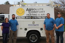 "<div class=""source"">Doug Ponder</div><div class=""image-desc"">Absolute Comfort Heating and Air is a family owned business that performs heating and air work including services, replacements and installations of new systems. Pictured from left are Carla Hoffie, Alex Dohn, Joe Dohn and Calvin Dohn. </div><div class=""buy-pic""><a href=""/photo_select/46149"">Buy this photo</a></div>"