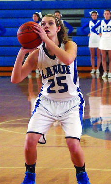 "<div class=""source"">Photo by John Herndon, Landmark News Service</div><div class=""image-desc"">LaRue County's Allison ""Alley"" Evans shoots a free throw during a recent game with Anderson County.  </div><div class=""buy-pic""><a href=""http://web2.lcni5.com/cgi-bin/c2newbuyphoto.cgi?pub=029&orig=jh_alley_evans2.jpg"" target=""_new"">Buy this photo</a></div>"