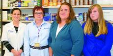 """<div class=""""source"""">Charlotte Isbell</div><div class=""""image-desc"""">Photo by Charlotte Isbell Hodgenville Rite Aid employees congratulated Kelly Calhoun and daughter Katlyn on their win of a $2,600 gas card. From left, Jamie Marksbury, chief pharmacist; Yvonne Whitaker, store manager; Kelly Calhoun; and Katlyn Calhoun. </div><div class=""""buy-pic""""><a href=""""http://web2.lcni5.com/cgi-bin/c2newbuyphoto.cgi?pub=029&orig=kelly%2Bcalhoun.jpg"""" target=""""_new"""">Buy this photo</a></div>"""