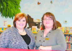 """<div class=""""source"""">Jerianne Strange</div><div class=""""image-desc"""">Katie Wheatley, left, Youth Service Librarian, and Liz Whitlock, Assistant Youth Service Librarian, in the second-floor children's area at the LaRue County Public Library. The library offers a variety of programs for children of all ages.</div><div class=""""buy-pic""""><a href=""""/photo_select/25993"""">Buy this photo</a></div>"""